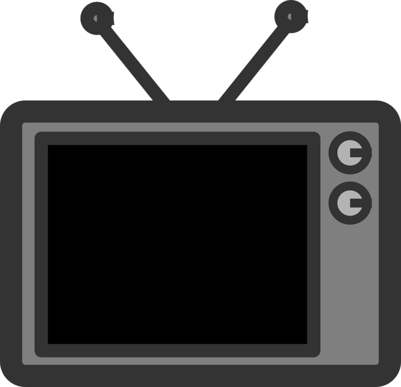 tv ClkerFreeVectorImages