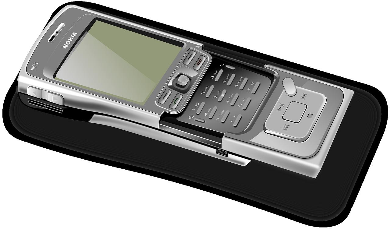 携帯電話 OpenClipartVectors